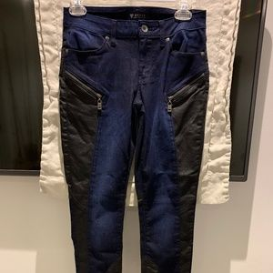 Guess Jeans with Shiny Black Panels